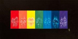 Spectral | Original Painting by Miles Davis | Massive Burn Studios Art
