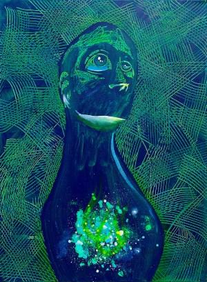 Stargazer III | Original Art by Miles Davis | Massive Burn Studios