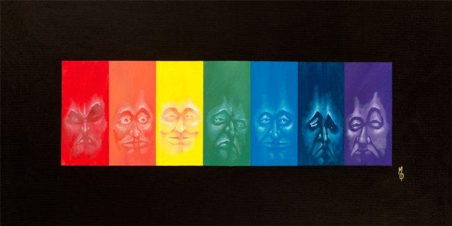 Spectral | Fine Art Painting by Neo Surrealist Painter Miles Davis | Massive Burn Studios