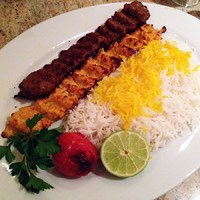 Ground Beef and Chicken Skewers