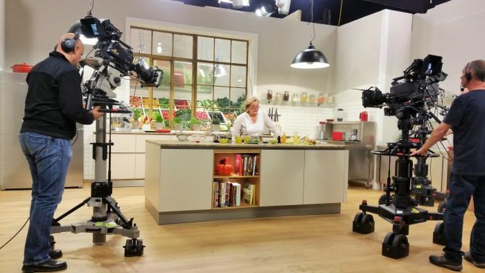 Aufzeichnung der ORF TV Kochsendung Frisch gekocht mit Lisl Wagner-Bacher