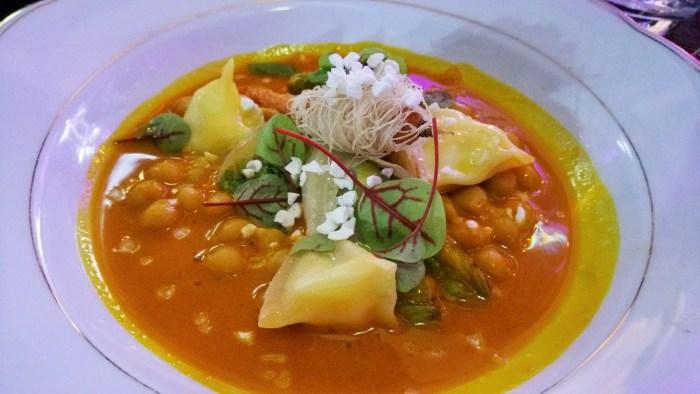 Karotte, Curry, Kopfsalat, Joghurt