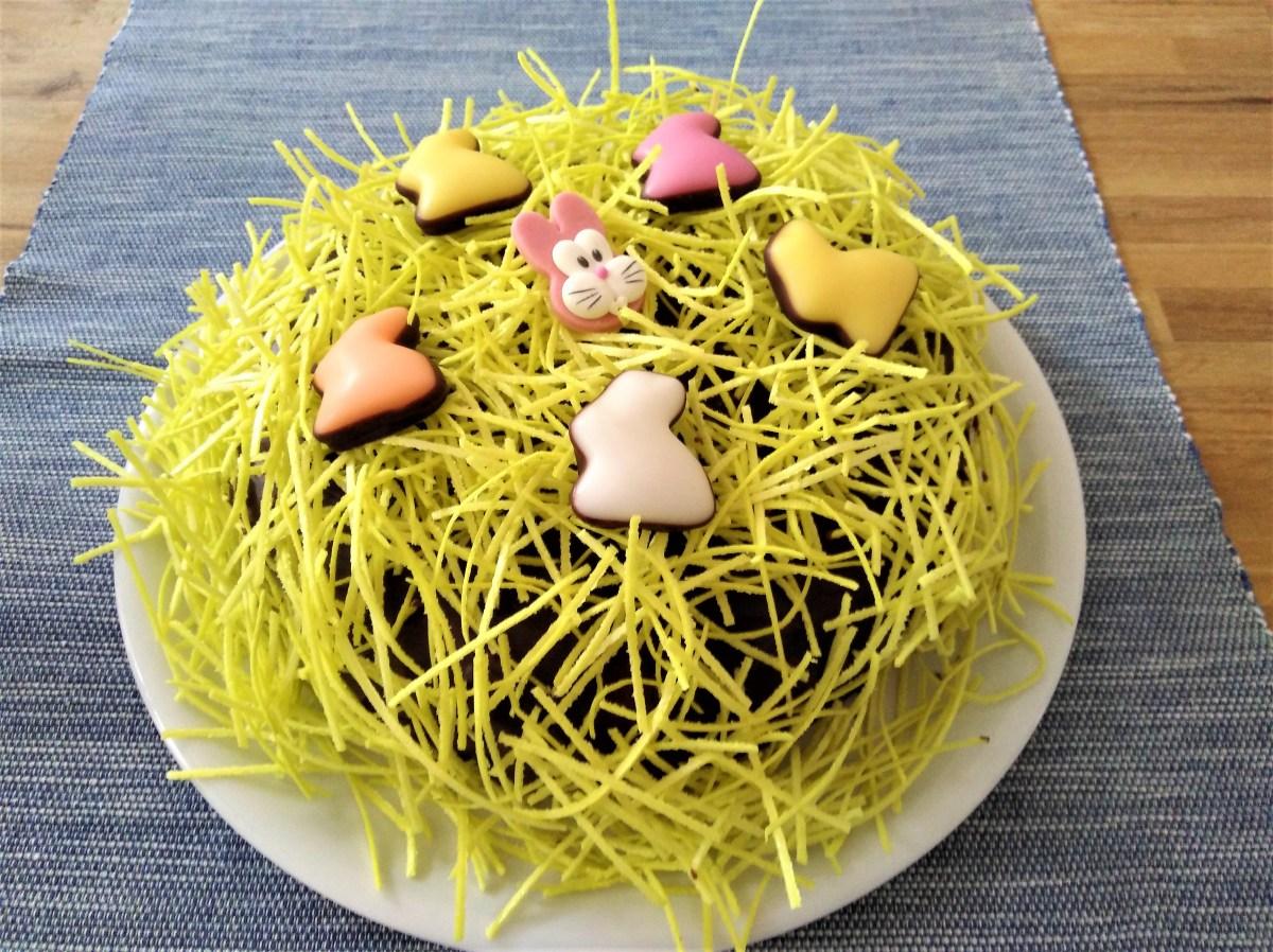 Ostergras-Karotten-Torte