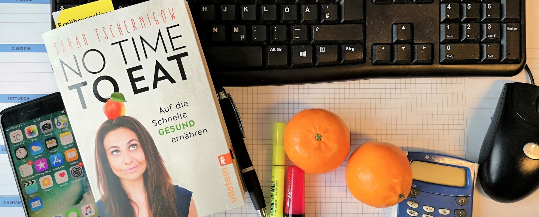 keine Zeit zu essen-Bürotisch-Zeitmangel