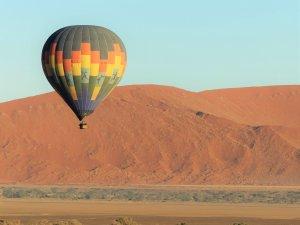 Ballon over Namib Desert