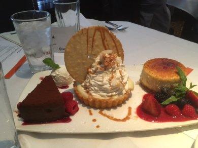 Dessert was delicious