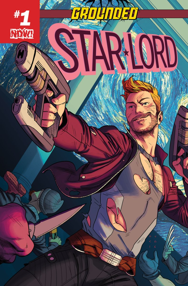 GROUNDED! Your First Look at STAR-LORD #1!