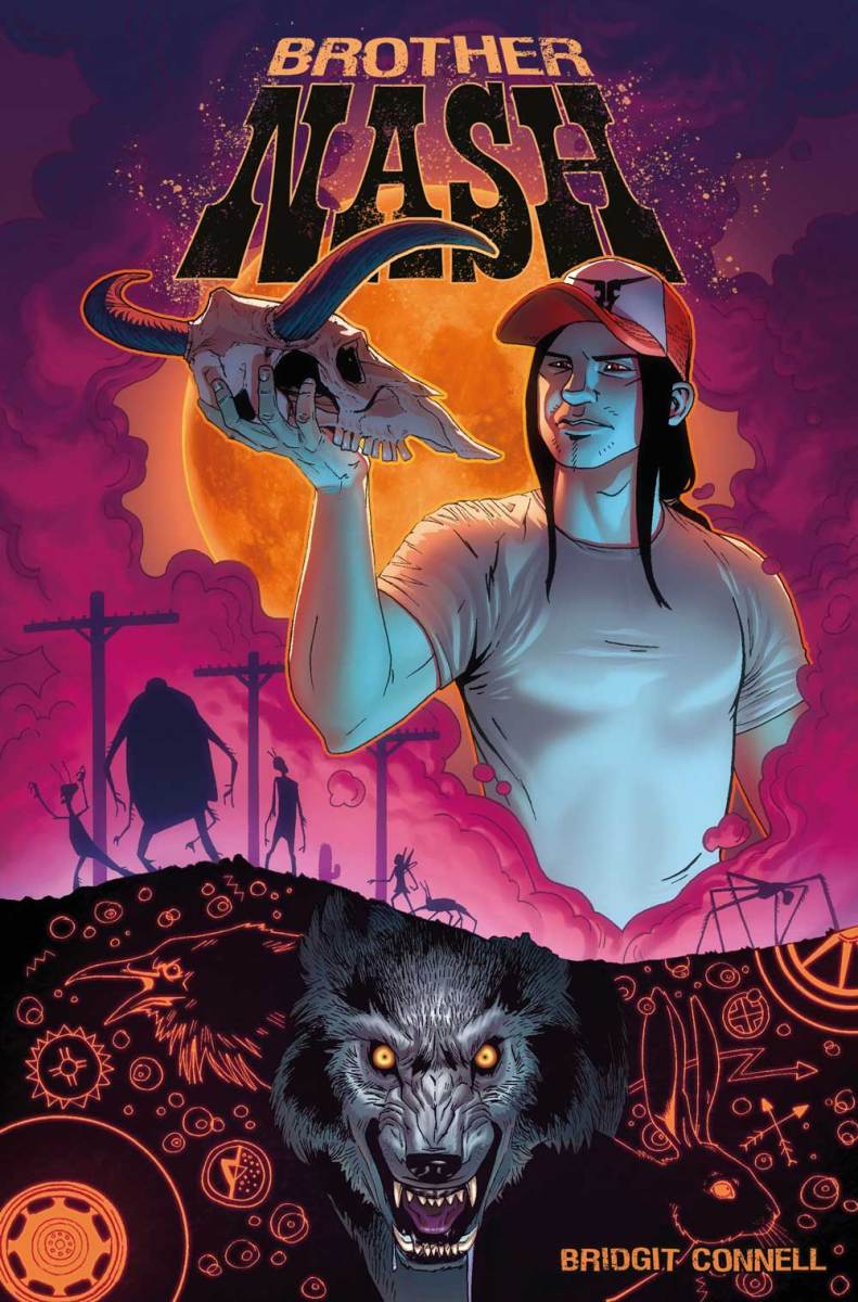 Titan Comics To Publish Howling New Creator-Owned Series Of The Supernatural - Brother Nash!
