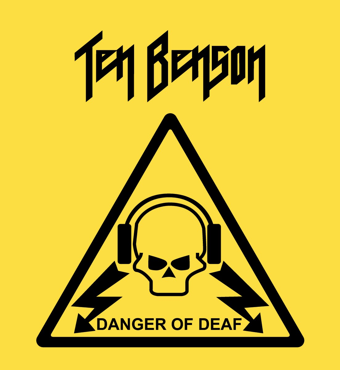 Ten Benson - Danger of Deaf Reissue (Drastic Plastic Records)