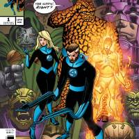 Celebrate The Return of the FANTASTIC FOUR With An All-New Cover by Walt Simonson!