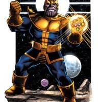 Marvel Reveals New THANOS LEGACY #1 Art by George Perez!