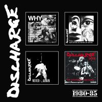 Discharge – 1980 – 85 4xCD Boxset (Cherry Red)