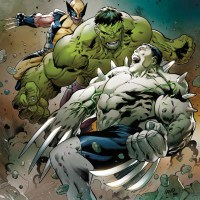 The Battle of the Century Begins in HULKVERINES!