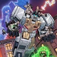Egon Meets Energon in TRANSFORMERS / GHOSTBUSTERS Comic Book Series from IDW Publishing