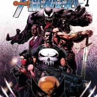 Venom, Punisher, Conan, Wolverine, Brother Voodoo, Elektra: THE SAVAGE AVENGERS!