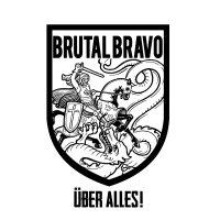 """Brutal Bravo - Über Alles 7"""" (Contra/ Longshot)"""
