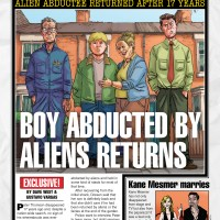 Boy Abducted By Aliens Returns - Dave West and Gustavo Vargas (Accent UK)