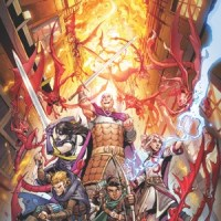 DUNGEONS & DRAGONS: INFERNAL TIDES Comic Book Heats Up IDW Publishing in November...