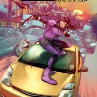 KATE BISHOP TAKES AIM FOR HER NEXT ERA IN NEW HAWKEYE: KATE BISHOP #1 TRAILER!