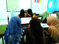 Pelatihan Internet di MA Nurul Athfal Pesantren (6)