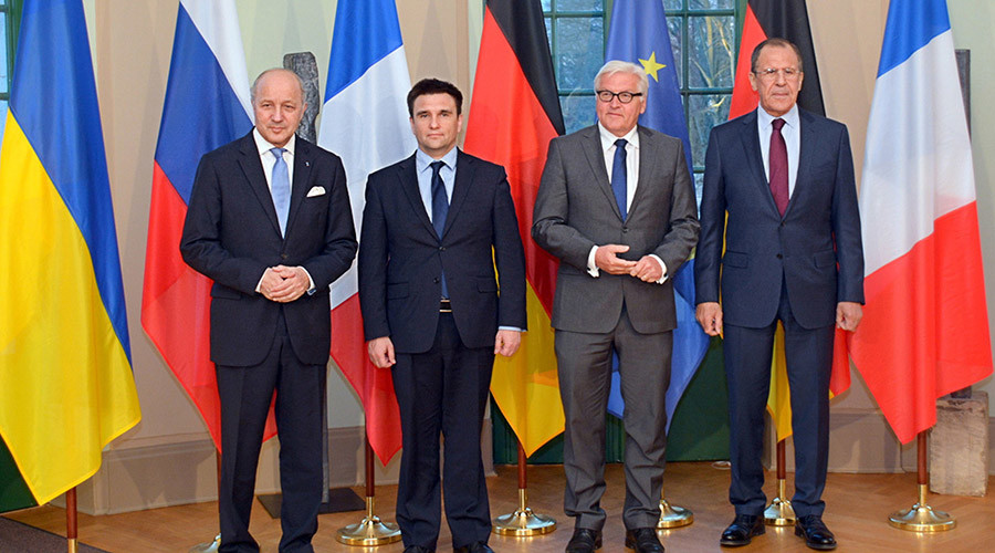 "Meeting of ""Normandy Four"" foreign ministers"