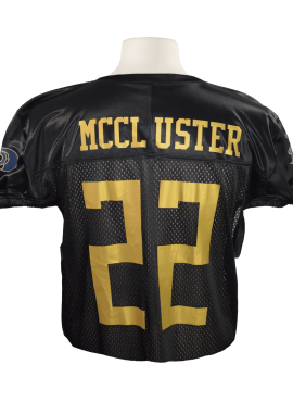 Adidas Alternate Mesh Home Jersey- Black/Gold- #22 Dexter McCluster