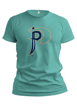 Pirates Alternate Unisex Youth T-Shirt- Teal
