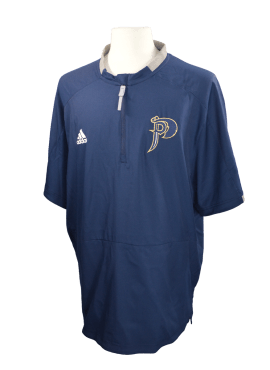 Adidas Alternate Fielder's Choice Zip-Up- Navy