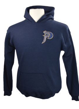 Pirates Alternate Youth Hoodie- Navy