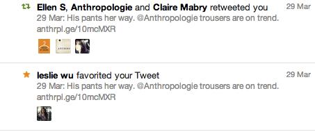 Anthropologie RT