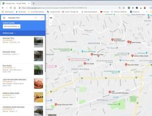 Pécsi masszázs lehetőségek térképen