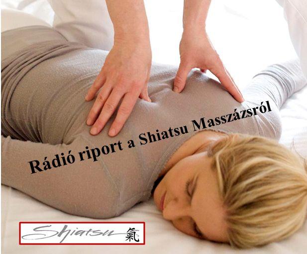 Rádió riport a Shiatsu Masszázsról