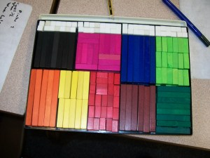 That rarest of things, a full Cuisenaire Set!