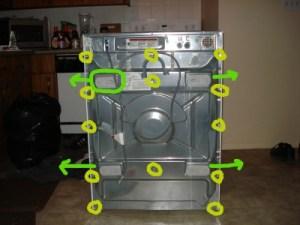 Самостоятельный ремонт стиральных машин » Домашняя работа