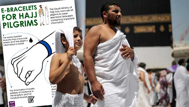 Gelang Elektronik Untuk Jamaah Haji