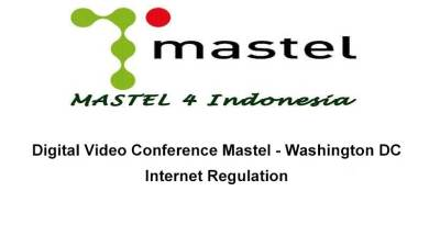 Mastel - Washington DC, Internet Regulation
