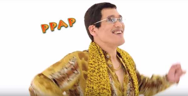 "Hebohnya Lagu ""Pen-Pineapple-Apple-Pen (PPAP)"" di Sosial Media"
