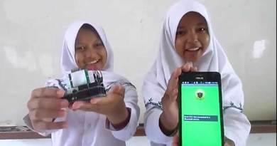 Srisujak Aplikasi Deteksi Pencuri Jarak Jauh Karya Siswi SMK Sleman