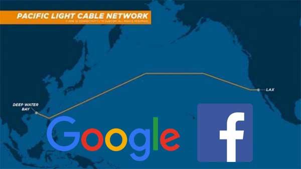 Google Facebook Kabel Bawah Air
