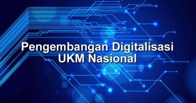 Pengembangan Digitalisasi UKM Nasional