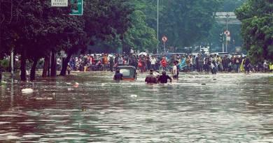 Warga Jakarta Semakin Mudah Pantau Banjir Secara Online