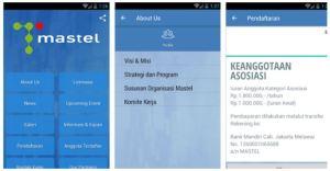 Aplikasi Mobile MASTEL