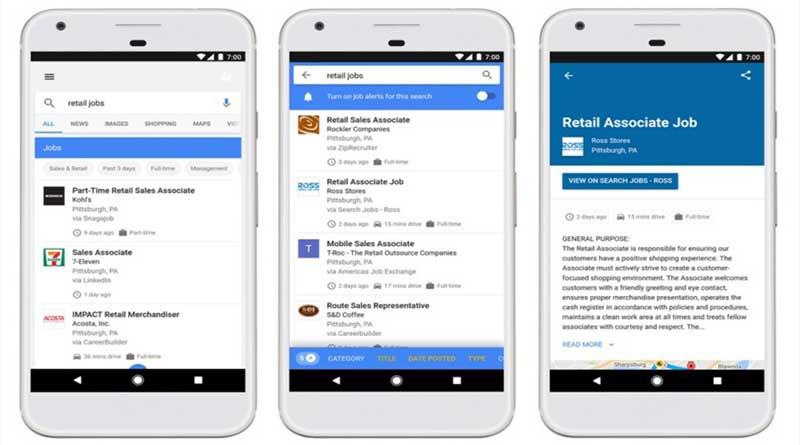 Bingung Cari Kerja? Gunakan Fitur Baru Google Untuk Cari Kerja