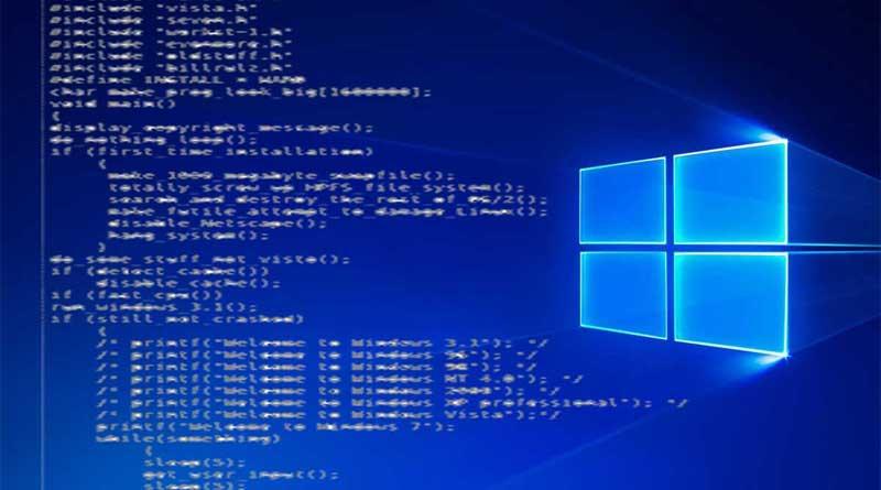 Wah! Sumber Kode Windows 10 Bocor Online!