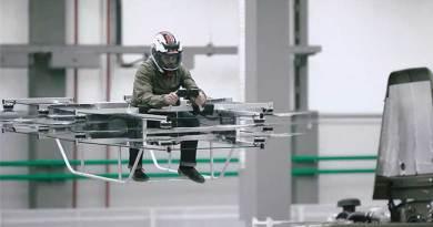 Pabrik Pembuat AK – 47 Buat Hoverbike