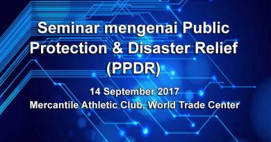 Seminar mengenai Public Protection & Disaster Relief