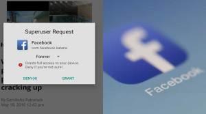 Wah! Aplikasi Facebook di Android Minta Izin Superuser