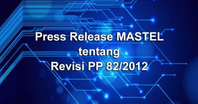 Press Release tentang Revisi PP 82 2012