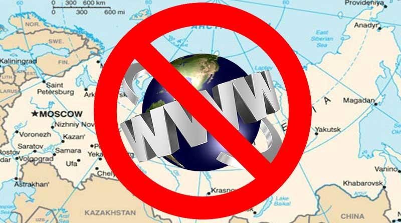 Rusia Akan Putuskan Akses Internetnya Dari Seluruh Dunia