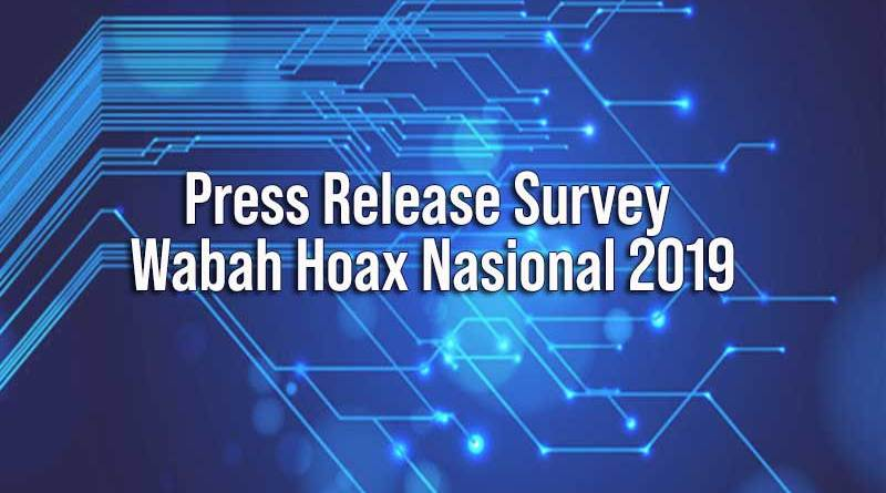 Press Release Wabah Hoax Nasional 2019